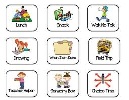 If Then Chart Autism If And Then Chart First And Then Chart Autism Asd Visual Schedule Behavior