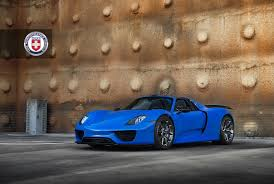 2018 porsche spyder 918. exellent porsche voodoo blue porsche 918 spyder brings the magic on custom wheels and 2018 porsche spyder