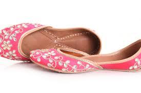 Mojari Size Chart Dianne Jutti Hot Pink