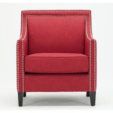 tanner red accent chair by greyson living free today 20675033