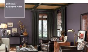 Sherwin Williams Living Room Colors 2014 Color Of The Year Exclusive Plum Sw 6263 By Sherwin Williams