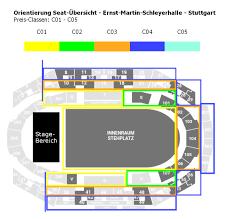 Sap Arena Mannheim Seating Chart