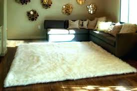 round faux fur rug white faux fur rug round faux fur rug round sheepskin rug white