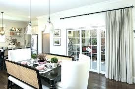 window treatment ideas for sliding glass doors door image of wonderful curtains