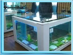 office aquarium. Aquarium Office Table