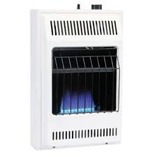 williams 10 000 btu blue flame vent free natural gas wall heater with built in