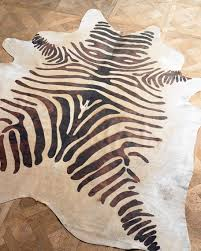 zebra area rug. Zebra Area Rug B
