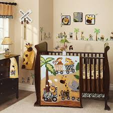 boy crib bedding set zoo theme