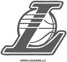 The los angeles lakers logo has undergone quite a few alterations throughout the brand's history. Lakers Logo Sticker Karbon Los Angeles Lakers Logo Los Angeles Lakers Icon Clipart Large Size Png Image Pikpng