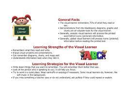 Visual Learning Strategies Visual Learner Strategies