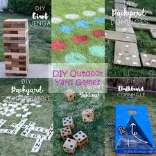 Diy Outdoor Games Living With Style Blog Hop