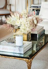 designer tips for styling a coffee table