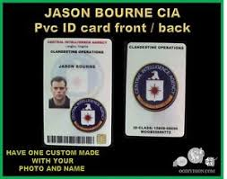 Card Jason Bourne Id Set Division Cia Pvc Oo Collector Ebay