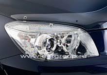 <b>Защита фар</b> Toyota RAV 4 2006-2009 <b>прозрачная</b>, 2 части, <b>EGR</b> ...