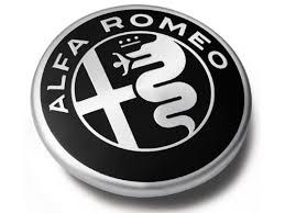 alfa romeo logo black and white. trim out your giuliau0027s wheels with these genuine oem center caps from alfa romeo featuring the brand logo add a finished look to black and white