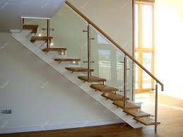 glass stair railing impressive stairs design indoor with wood tread and staircase cost bangalore
