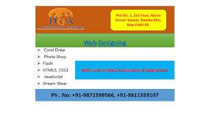 Web Designing Institute Best Training Institute For Web Designing Course In Delhi