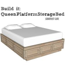 Amusing Plans For Platform Bed With Storage Drawers 12 About Remodel Home  Decorating Ideas with Plans For Platform Bed With Storage Drawers
