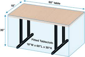 how to measure your table for fitted tablecloths