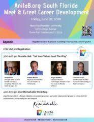 Meet And Greet Meeting Agenda Anitab Org South Florida Meet Greet Career Development