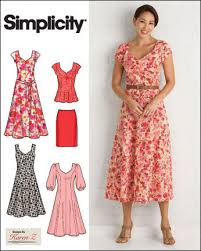 Simplicity Karen Z MissesPlus Size Sewing Pattern 40 Dresses 40 Classy Simplicity Patterns