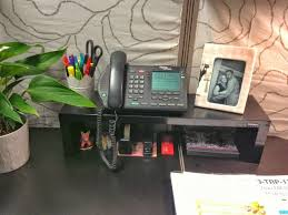 how to decorate your office. cubicle organization idea use a shelf to maximize the vertical space on your office desk and keep small supplies organized how decorate