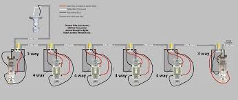 four way wiring diagram wiring diagram and schematic design 3 way and 4 wiring diagrams lights before the switches