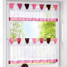 Cool Ideas Colorful Kitchen Curtains Trends And Images Getflyerz Com