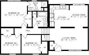 Glenn Haven by Apex Modular Homes Split Level FloorplanGlenn Haven Split Level Floorplan by Apex Modular Homes