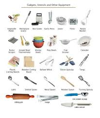 kitchen utensils names. Kitchen Tools Worksheet Along With Utensils Names And Uses