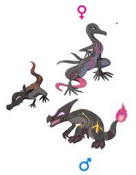 Salandit Male Evolution Pokemon Breeds Pokemon Pokemon
