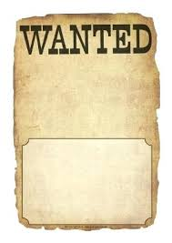 Wanted Poster Template For Pages Wanted Paper Template