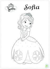 Sofia Printable Coloring Pages Zupa Miljevcicom
