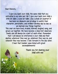 End Of The Year Letter To Parents From Hearttoheartteaching