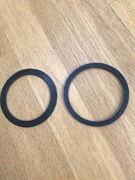 90mm kitchen sink strainer waste plug replacement rubber washer seals only set