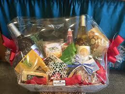 mistletoe gift basket
