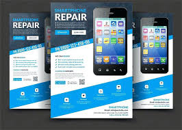 Apple Flyer Templates Smartphone Repair Flyer Templates By On Apple Preinsta Co