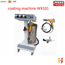 professional electrostatic spray powder coating machine spraying paint wx 101 for home office
