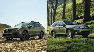 2019 Subaru Color Chart 2020 Subaru Outback See The Changes Side By Side