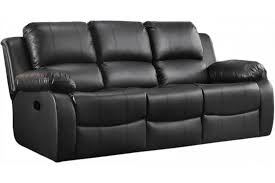 valencia leather sofa black recliner 3
