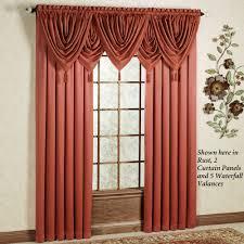 concord satin curtain panel 55 x 84