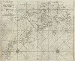 Nautical Charts New England Coast A Chart Of The Sea Coast Of New Found Land New Scotland