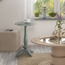 Shop Windelle Shabby Chic Round Side Table By Foa On Sale Free