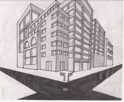 perspective drawings of buildings.  Buildings Perspective Drawing By Ulquiorra2011  And Perspective Drawings Of Buildings B