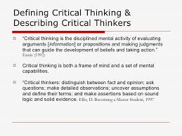 What are the Importance and Benefits of  quot Critical Thinking Skills