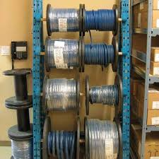 wire spool racks in stock