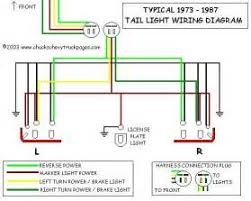 similiar chevrolet tail light wiring harness keywords wiring schematic diagram for 1973 1987 chevrolet truck tail lights