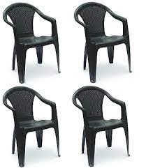 patio chairs 4 rattan garden chairs
