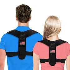 Posture Corrector For Men And Women Usa Patented Design Adjustable Upper Back Brace For Clavicle Support And Providing Pain Relief From Neck Back
