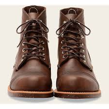 red wing shoes men s 6 inch iron ranger